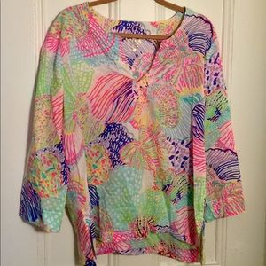 Lilly Pulitzer Long Sleeve Tunic